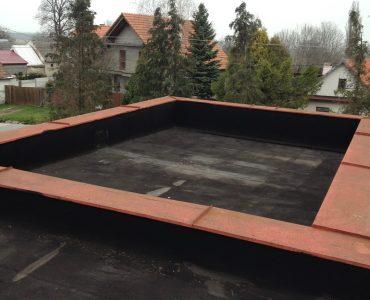 Izolácia strechy – Zdravotné stredisko Kuchyňa, mPVC